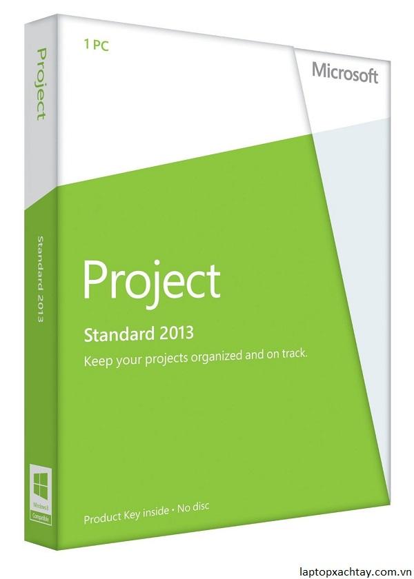 MICROSOFT Project Standard 2013 32/64-bit - License - 1 PC
